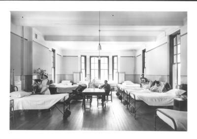 A ward Parkwood auxiliary hospital/convalescent home; JWO/6/13/IN1210