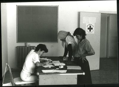 ICRC tracing office at Tyre in Lebanon