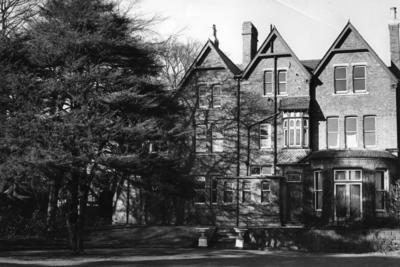Exterior view of Crossways House for severely disabled women in Edgbaston, Birmingham