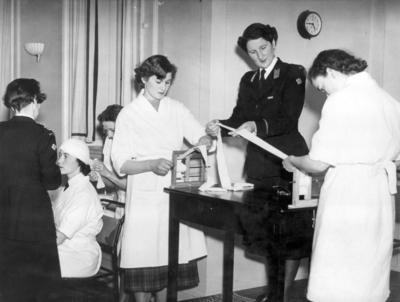 Intensive nursing course at Barnett Hill training centre