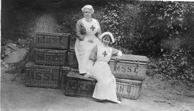 Nursing Staff at Ashcombe House Red Cross Hospital in Weston-Super-Mare, Somerset; RCB/2/9/5/125