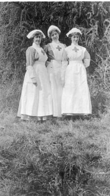 Nursing Staff at Ashcombe House Red Cross Hospital in Weston-Super-Mare, Somerset; RCB/2/9/5/123
