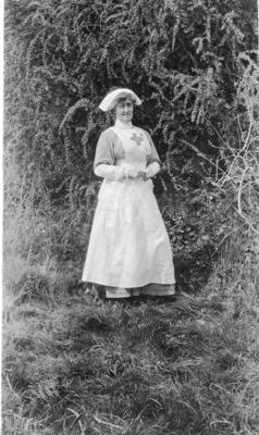 Nursing Member Miss E Heap at Ashcombe House Red Cross Hospital in Weston-Super-Mare, Somerset; RCB/2/9/5/121