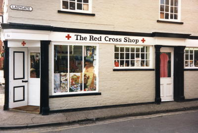 Beverley Red Cross shop in Ladygate