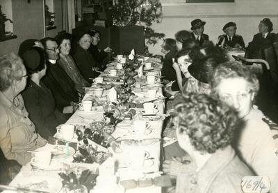 A Christmas Party for the Elderly and Disabled, organised by the Farnham Division, Surrey
