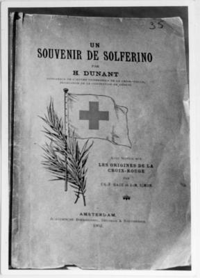 Picture of book cover of Un Souvenir de Solferino