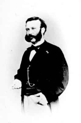 Portrait of Henry Dunant