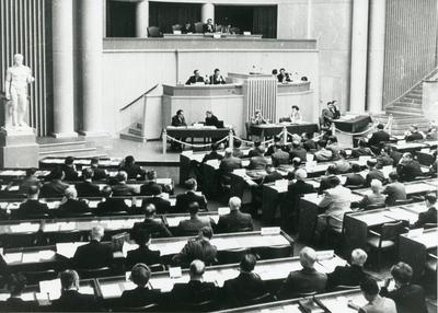 Photograph of the Diplomatic Conference in Geneva