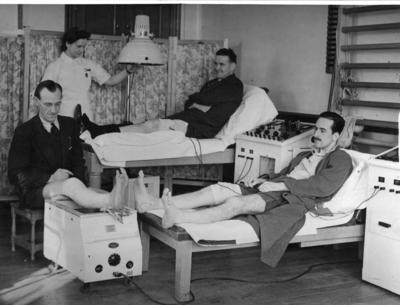 Parwich auxiliary hospital