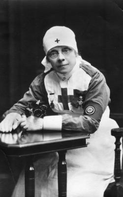 Photograph of Miss Bugden