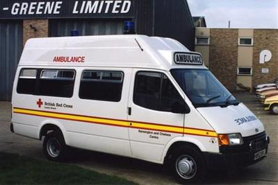 London Branch ambulance