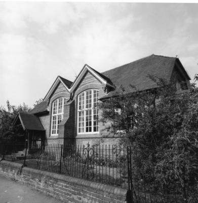 Exterior view of Church House Hospital, Wokingham