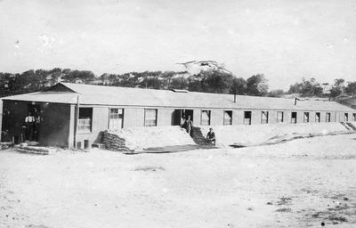 Exterior of Adrian Ward of 56 General Hospital, Etaples