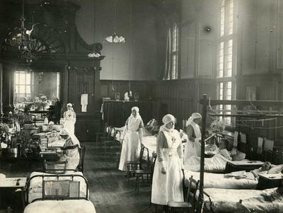 Wards at Oxford University Auxiliary Hospital, Oxford