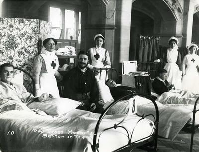 Burton-on-Trent Town Hall Auxiliary Hospital, Staffordshire