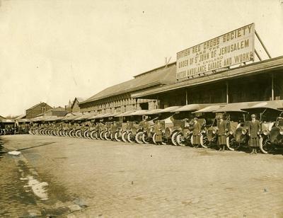 Boulogne Ambulance Depot