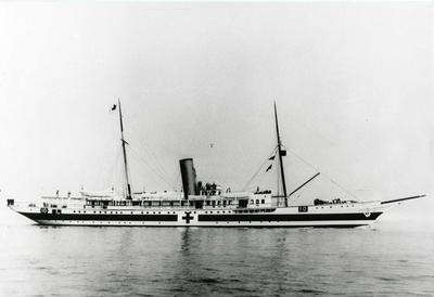 Steam yacht 'Liberty' hospital ship