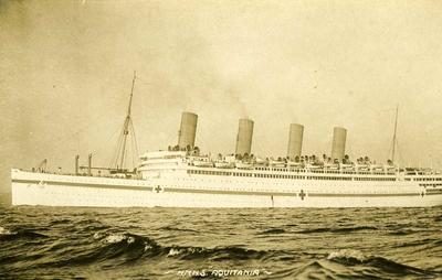 HMHS 'Aquitania'