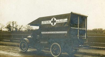 Early standard of motor ambulance