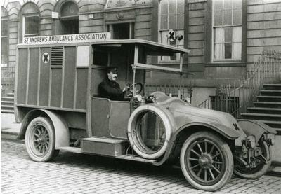 Ambulance, St Andrew's Ambulance Association.