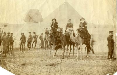 VADs, Ms M. Millbanke and others, Cairo