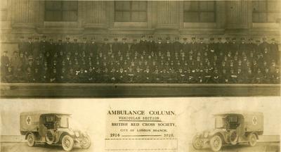 London Ambulance Column