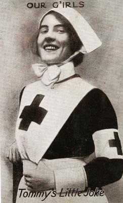 Red Cross Postcard