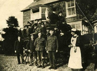 Broughall Cottage Auxiliary Hospital, Whitechurch, Shropshire