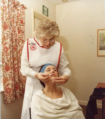 Colour photograph of the Beauty Care service