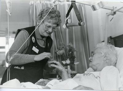 Black and white photograph of Beauty Care services in Sussex