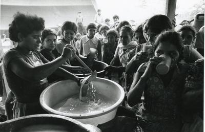 Black and white photograph of Honduras