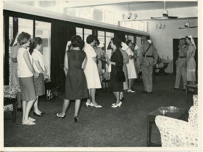 Black and white photograph of British Military Hospital, Dhekelia Cyprus