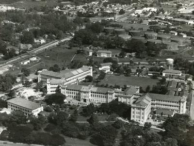 Black and white photograph of British Military Hospital Alexandra, Singapore