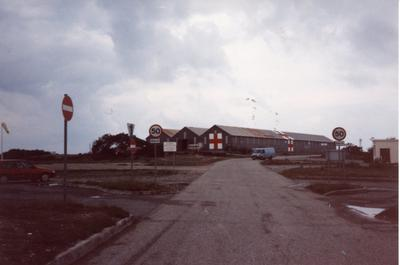 Colour photograph of RAF Akrotiri in Cyprus