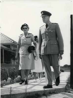 Black and white photograph of Akrotiri RAF Hospital Cyprus