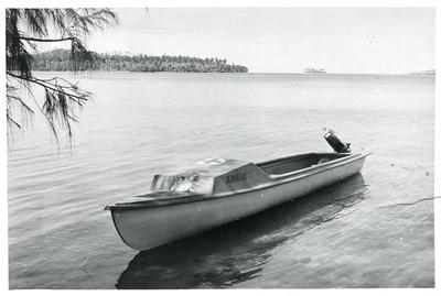 Black and white photograph of the British Solomon Islands branch