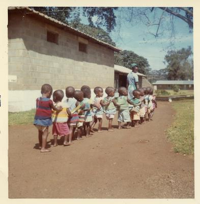 Colour photograph of the Dagoretti Children's Centre in Kenya