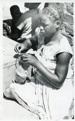 Black and white photograph of the Chitera Clinic in Malawi