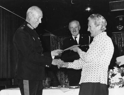 Mrs M. Walker, Secretary of the Hospital Car Service 1948-1977