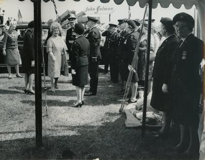 HRH The Queen Mother Visiting the Essex Show in Braintree