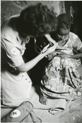 Black and white photograph of Ethiopia