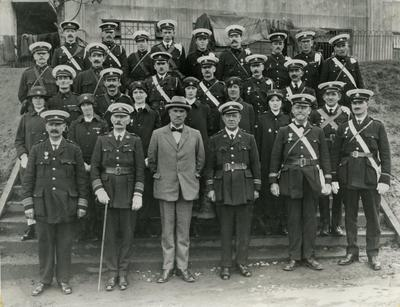 Red Cross Personnel on Duty at the Empire Exhibition at Wembley, 1924