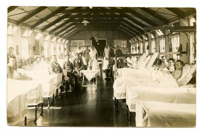 A ward in the Welsh Hospital , Netley.