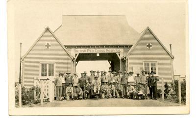 'Australians at Netley July 1916'
