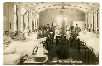 'Red Cross Hospital: Ward 38'; 0324/IN7090