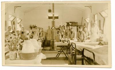 'Red Cross Hospital: Ward 11 Horsham Hut'; 0324/IN7096