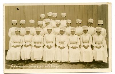 'Japanese Nurses at Netley.'