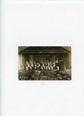 'Revue : S M Peter's Troupe , Christmas 1916'; 0324/IN7157