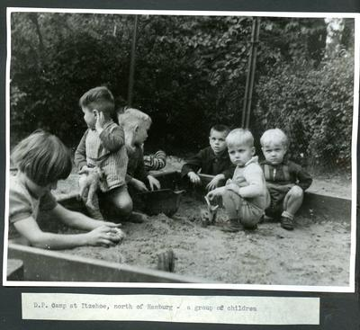Displacement camp in Germany; JWO/9/3/2f