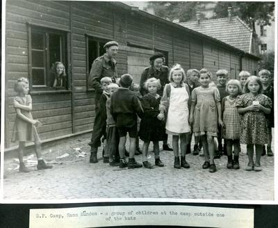 Displacement camp in Hann Munden, Germany; JWO/9/3/2d